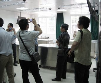 华中科技大学同济医学院解剖实验室